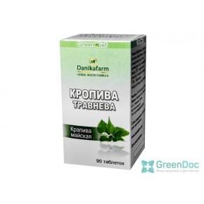 Крапива майская, Даникафарм, 90 таблеток
