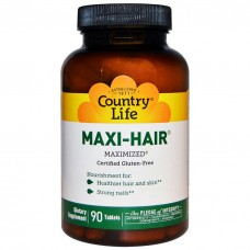 Maxi-Hair, Country Life, 90 таблеток