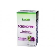 Тонзінормін - для зниження артеріального тиску, Данікафарм, 90 табл.