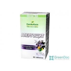 купити Аллергощит - антиалергійна пропис, Данікафарм, 90 табл.