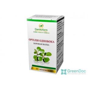 Ортилия однобокая (Боровая матка), Даникафарм, 90 таблеток