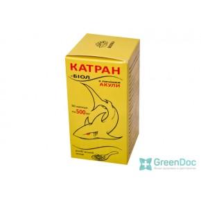 Катран-биол (жир из печени акулы), 30 капсул