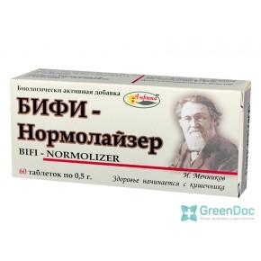 Бифи-Нормолайзер, 60 таблеток