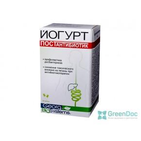 Йогурт Постантибиотик, Georg Biosystems, 30 капс.