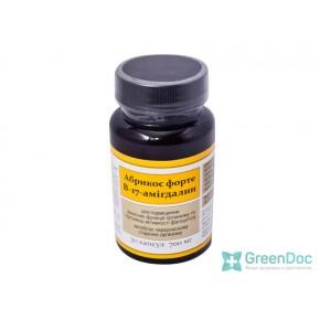 Абрикос форте B-17 (Амигдалин), 30 капсул 700 мг, Витера