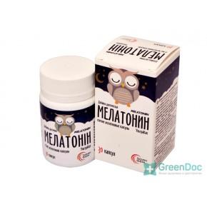 Мелатонін, Здравофарм, 30 капсул