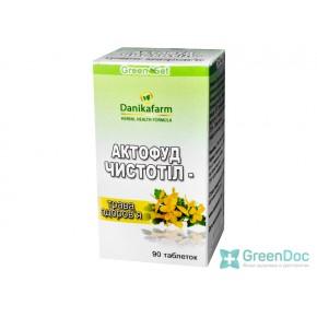 купити Актофуд чистотіл-трава здоров'я, Данікафарм, 90 табл.