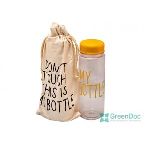 Пляшка My Bottle 500 мл, в чохлі