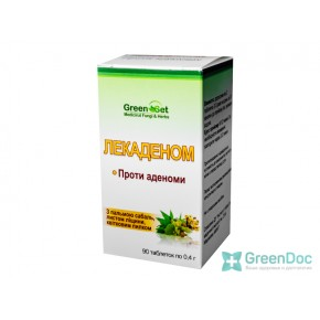 Лекаденом - Против аденомы, Даникафарм, 90 таблеток