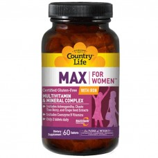 Max for women with iron Country Life 120 таблеток