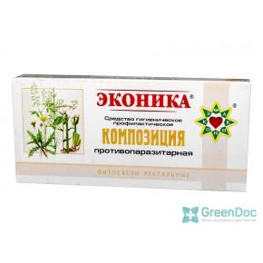 купити Свічки протипаразитарні, Еконіка, в Києві