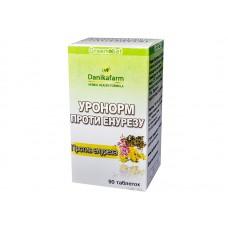 Уронорм - против энуреза, Даникафарм, 90 табл.