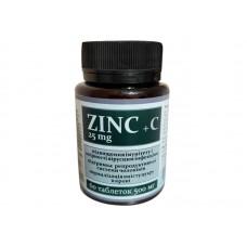 Цинк + Витамин C, Витера, 60 табл.