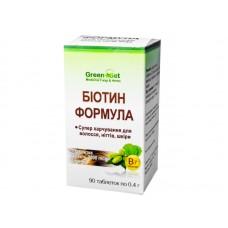 Біотин формула, Супер харчування для волосся, нігтів, шкіри (Данікафарм) 90 таб.