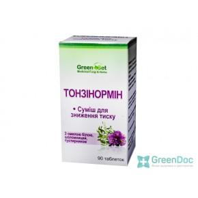 Тонзинормин – для снижения артериального давления, Даникафарм, 90 таблеток