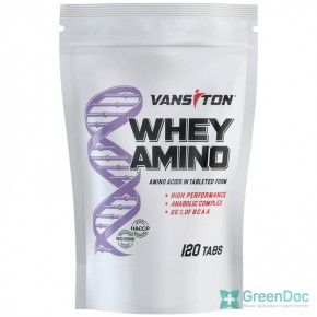 WHEY AMINO (Вей-Амино) Ванситон 120 таблеток