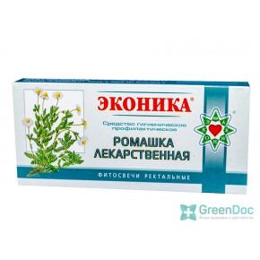 купити Свічки Ромашка лікарська, Еконіка, в Києві